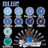 BLUE Rainbow UV gel bez výpotku  - výběr odstínu